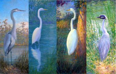 "Glen Weber's ""Seasons of Birds"""